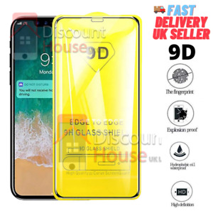 9D Tempered Glass Screen Protector For Samsung A10 A20 A30 A40 A50 A60 A70 A80+S