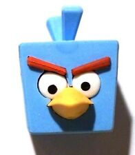 NEW! Angry Birds Space Ice Bomb Blue Bird Puzzle Eraser Figure AWESOME! :)