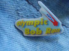 Pin Olympia Olympiade Bobsport Viererbob Olympische Winterspiele Wintersportart