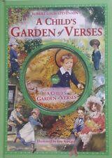 A Child's Garden Of Verses,    Robert Louis Stevenson,   LIKE NEW~CD~LG~H/C