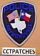 RAYMONDVILLE, TEXAS POLICE SHOULDER PATCH TX
