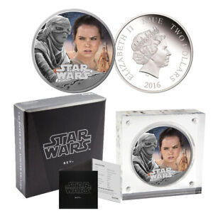 2016 Star Wars Rey Silver Proof $2 Coin - The Force Awakens