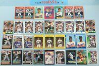 1990+ JUAN GONZALEZ Lot x 34 Donruss Fleer Bowman Classic Topps Rookie   Rangers