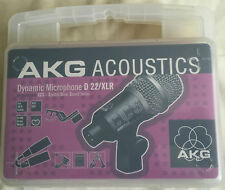 AKG Acoustique D22/XLR Microphone dynamique NEW IN BOX CCS Crystal Clear Sound