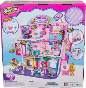 Shopkins Super Mall Largest Playset Ever NEW!!