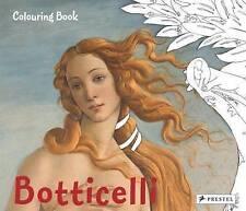 Colouring Book Botticelli, Prestel, New Book