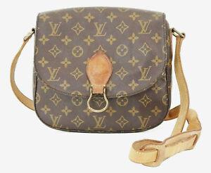 Authentic LOUIS VUITTON Saint Cloud GM Monogram Shoulder Bag #38845