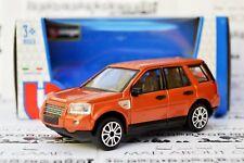 LAND ROVER FREELANDER 1:43 Car NEW Model Diecast Models Die Cast Metal Orange