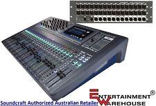 Soundcraft Si Impact 40input Digital Mixing Console + Mini Stagebox 32i