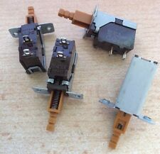 Mains switch Panel mount SPST spigot size 3mm,   20mm  Pack of 2      Z933