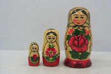 "Russian Nesting Dolls - 3 Pc. - 2 3/4"" High"