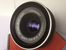 Carl Zeiss Tessar 50mm F2.8 M42 lente puede caber Pentax K Digital Canon Eos Ef