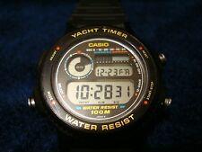 Vintage casio yacht timer watch TRW-30  ! NICE ! ! !
