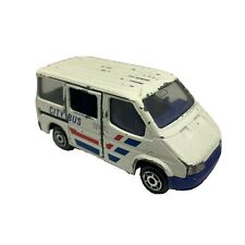 MAJORETTE FORD TRANSIT ECH.1/60 NO.243 CITY BUS VINTAGE ORIGINAL