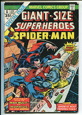 Giant-Size Super-Heroes #1 - Spider-Man & Man-Wolf! - 1974 (Grade 5.0)