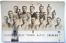 HUDDERSFIELD TOWN 1919-20 ORIGINAL FOOTBALL POSTCARD