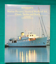 Sotheby's catalogue:   London 1989 Marine Pictures Nautical Works Of Art