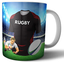 Toulouse Rugby Themed Mug-Anniversaire-Noël-Stocking Filler