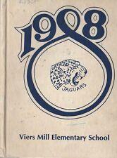 Yearbook Viers Mill Elementary School Silver Spring Maryland Jaguars 1988