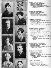 1924 Seattle Garfield High School Yearbook~Photos~History~Football~Baseball~++++