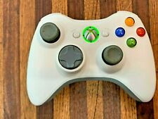 * GENUINE Microsoft Xbox 360 Wireless Controller - White