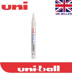 Uni Paint Marker Pen Fine PX-21 0.8mm-1.2mm Oil Based Permanent Waterproof WHITE
