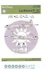 Bestfong Decals 1/144 LOCKHEED P-3C ORION ROCAF LOW VIZ Markings