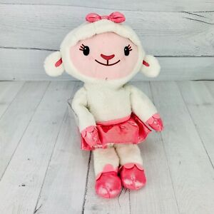 TY Disney Doc McStuffins Disney Jr LAMBIE Lamb Plush Stuffed Animal Lovey 13 in