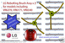LG RoboKing Vacuum Brush Part ABC73129901 & ABC73130001 Set of 2 - NEW - GENUINE