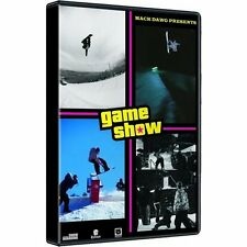 GAME SHOW snowboard snowboarding DVD Extreme Sports Mack Dawg