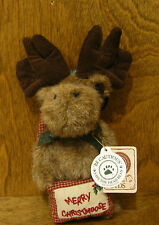 "Boyds Ornaments #562429 M.C. Twinklemoose, 5"" New/Tag From Retail Store, Moose"