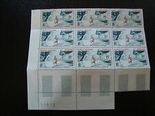 NOUVELLE CALEDONIE timbre yt aerien n° 67 x9 n** (Z2) stamp new caledonia