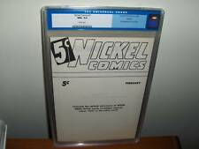 Nickel Comics #1 Ashcan (Fawcett, 1940) CGC NM+ 9.6 WP