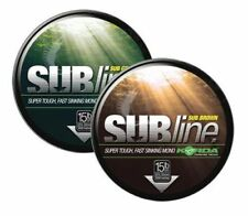 Korda Subline Super Tough Fast Sinking Mono Fishing Line 1000M 20LB Green