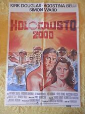 POSTER CARTEL ORIGINAL PELÍCULA: HOLOCAUSTO 2000 ANTHONY QUAYLE