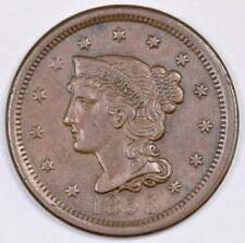 1856 Braided Hair Large Cent -- Upright 5 -- Higher grade