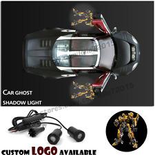 2x Transformers Bumblebee Logo Car door Projector Courtesy ghost shadow light