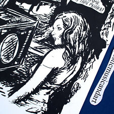 ORIGINAL RAYMOND PETTIBON ART COVER VERTIGO VINYL LP N.MINT