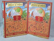 Jules VERNE - NORD contre SUD - 2 vol. Michel de l'ORMERAIE d'après HETZEL 1978