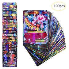 NEW Pokemon Cards 20GX+ 20Mega+ 59EX+ 1Energy Holo Flash Trading Card 100pcs