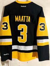 Reebok Women's Premier NHL Jersey Pittsburgh Penguins Maatta Black Alt sz M
