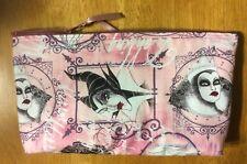Disney Villains Cruella Maleficent Handmade Make Up Bag / Art Case