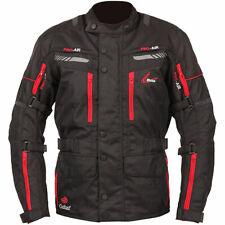 Weise Survie Houston Imperméable Moto Veste Textile Noir