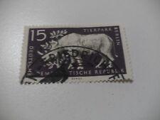 1957 DDR MiNR 553 XII o seltenes WZ  gestempelt Prüfgarantie