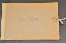 Hans Liska Sketch Book  Skizzenbuch 1944 Original