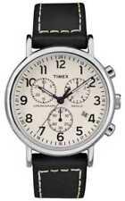 Relojes de pulsera Timex Weekender de cuero para hombre