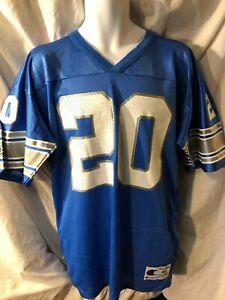 NWOT Vintage Authentic Champion Detroit Lions #20 Barry Sanders Jersey Sz 44