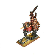 WARRIORS OF CHAOS Khorne lord mounted Converted #1 METAL Fantasy