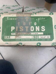Ford 93mm Piston 2.1 Pinto Rs2000 Escort/ Capri/cortina/kit Car