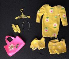 Vintage SKIPPER Complete Beachy Peachy Outfit #1938 Barbie 1967+ HTF Headband